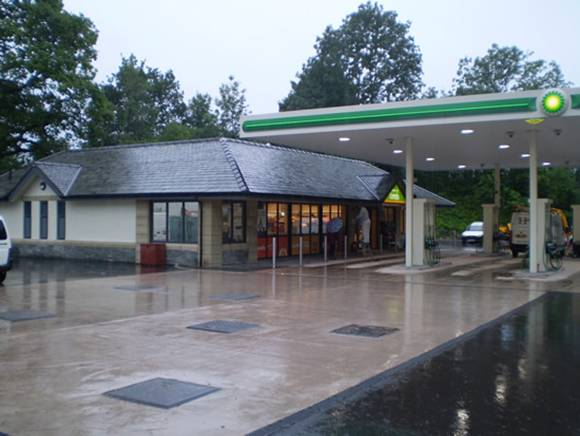 New Filling Station and Forecourt, Derwent Filling Station, Keswick