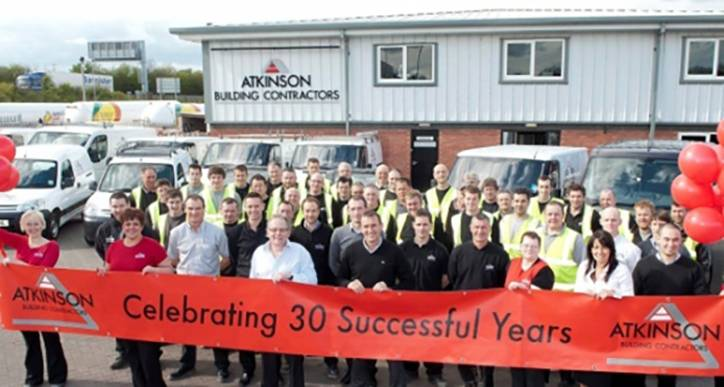 Atkinson Building Contractors celebrating 30 Years