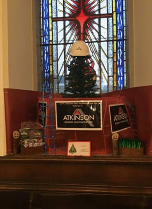 St. Andrews Church - Mission Christmas Complete! Thanks to Tracy and Antonia