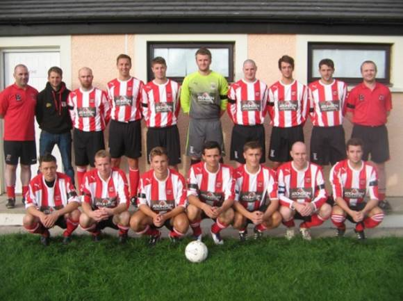 Wetheriggs FC 1st Team in the new kit
