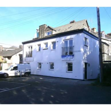 Conversion of public toilets into 4 one bedroom affordable homes - Banks Court, Keswick