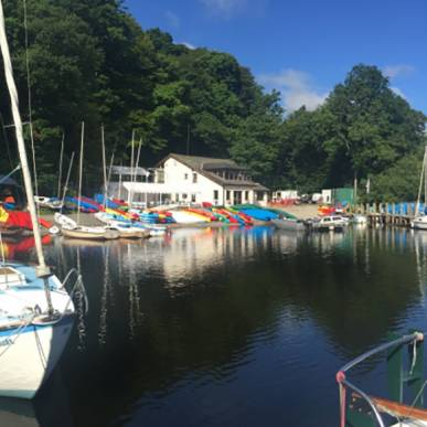 Following flood damage we were required to complete a full strip out and reinstatement. - Nichol End Marine on the shores of Derwentwater
