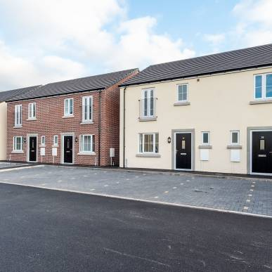 ALBION CLOSE, PENRITH - (NEW SHARED OWNERSHIP HOUSES)