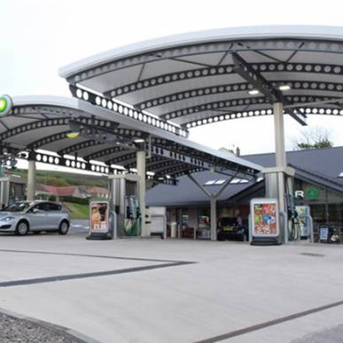 Petrol Station and Forecourt redevelopment, Pelican Garage, Whitehaven