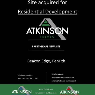 Site Acquired for Residential Development
