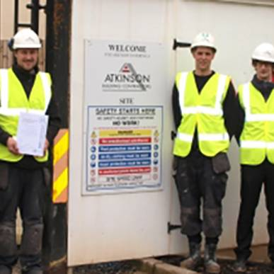Safety Accreditation for Atkinson Building Contractors Limited