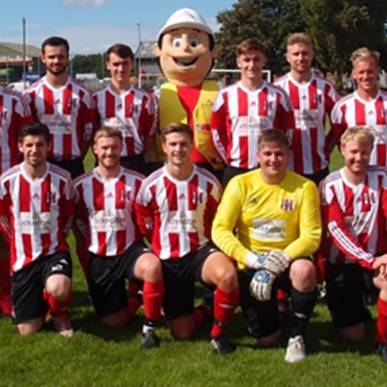 New Kit for Wetheriggs FC 1st Team