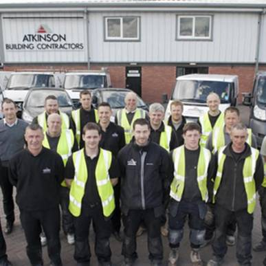 Atkinson Building Contractors Celebrate Success - 50% of their 'operational' staff are now qualified as competent Site Managers.