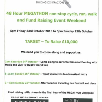 Only 7 days to go to the Megathon!