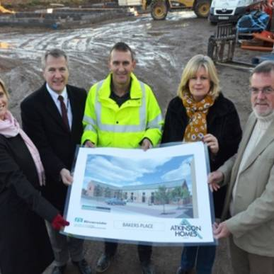 New homes rise on former Penrith bakery site