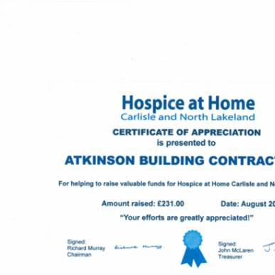 Hospice at Home Fundraising