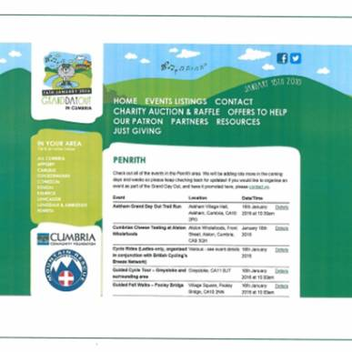 Cumbria Flood Support - Grand Day Out 16 Jan