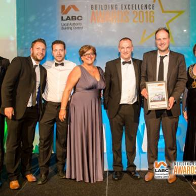 2 Projects Highly Commended at LABC Awards