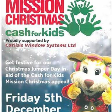 MISSION CHRISTMAS cashforkids