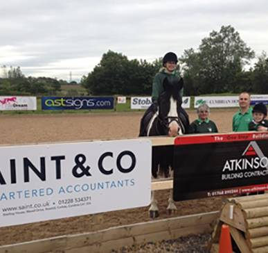 Local businesses supporting Carlisle Riding for the Disabled Association