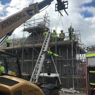 Albion Close Development - Training Exercise - 21.06.18