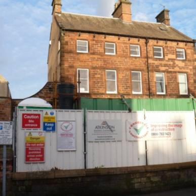 The redevelopment of Corney House, Penrith commences