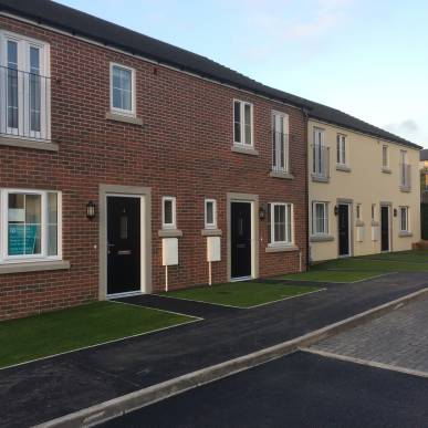 Albion Close Handover