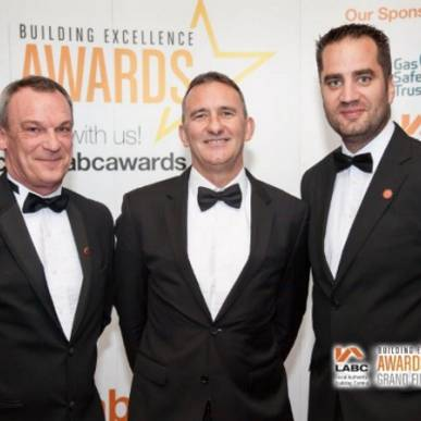 LABC- (Local Authority Building Control Awards) - Building Excellence Awards 2017 - GRAND FINAL - London