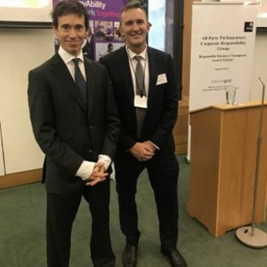 Prestigious Parliamentary Award Nomination – Rory Stewart nominates Atkinson Building Contractors as his Responsible Business Champion for 2017