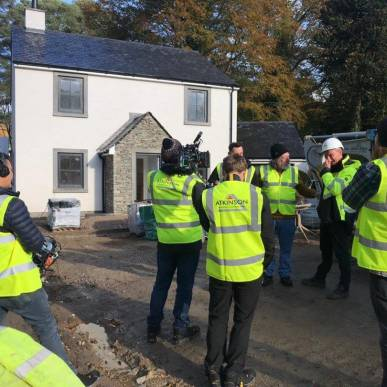 Special Visitors to Portinscale Site on Thursday 24.10.19