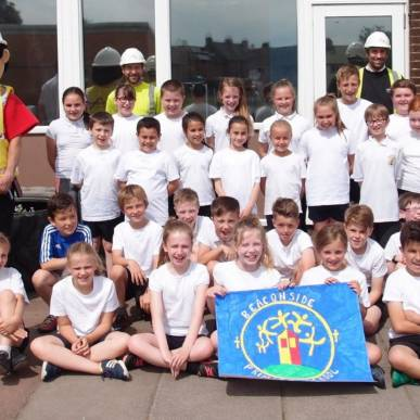 Beaconside Primary School benefit from Considerate Constructors Scheme