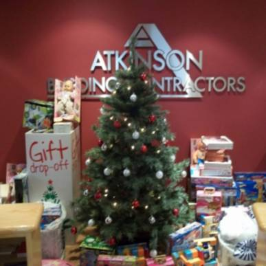 Atkinson Builiding Contractors support CFM Radio & Cash for Kids