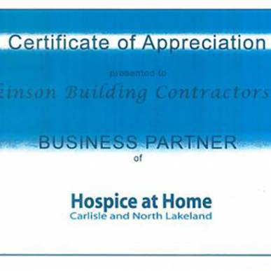 Business Partner Hospice at Home
