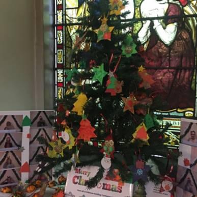 Christmas Tree Decs for St Andrews Church