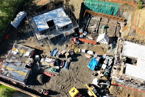 UNDER CONSTRUCTION, HOPEGILL GARDENS