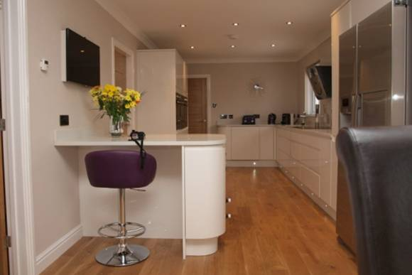 Modern contemporary kitchen refurbishment