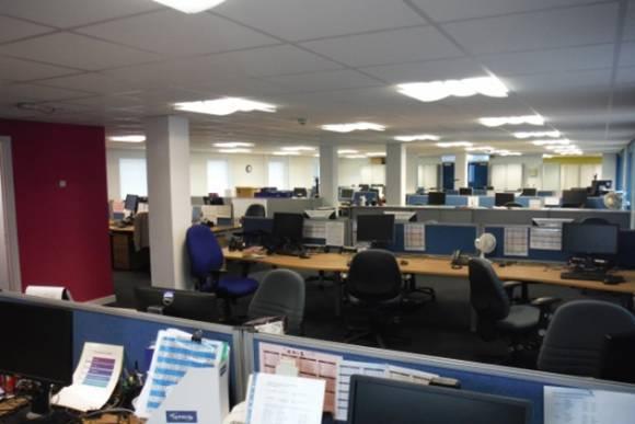 New open plan office