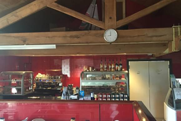 The cafe at Nichol End