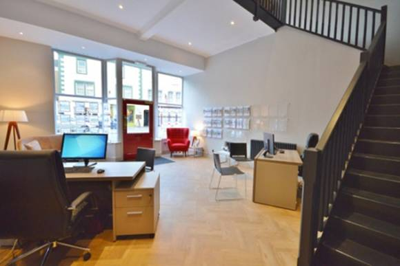 Shop to office conversion