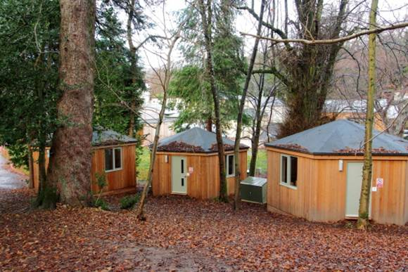 Yurt Meeting and Review Rooms