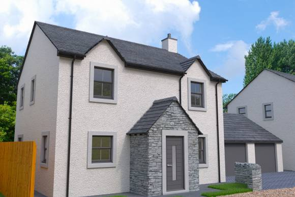 Plot 2 Front View