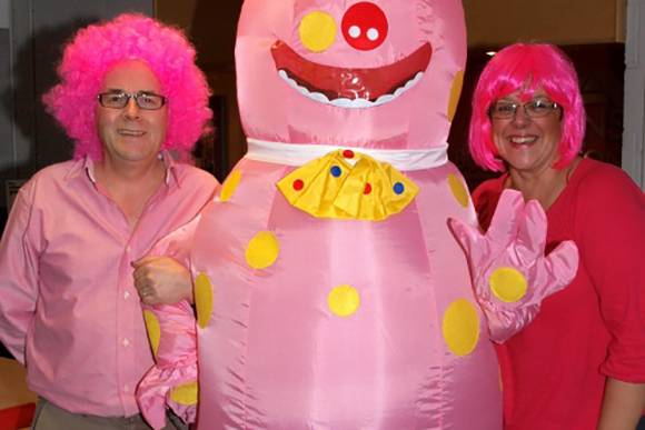 Tracy and Barry 'Wear it Pink'