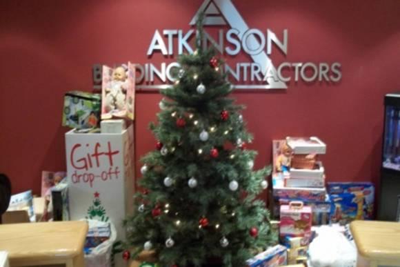 Atkinson Building Contractors 'drop off' point.