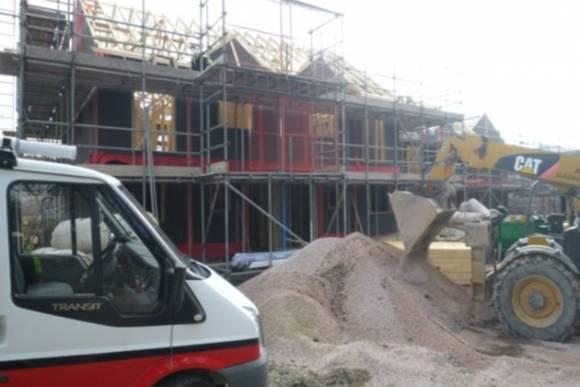 New development 11 timber framed homes