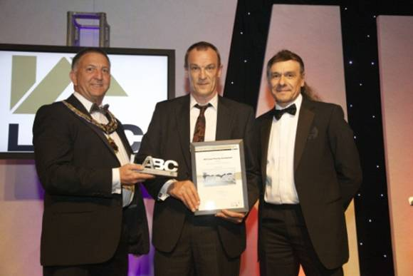 Neil McKaskie receives the LABC Excellence Award