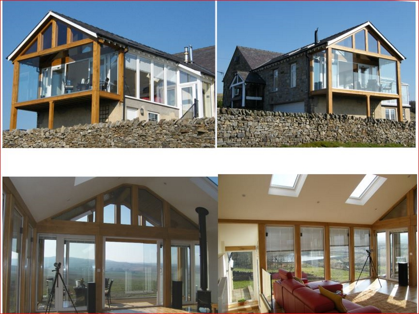 Before photo's + Matthew's original drawings & after photo's - Old School House, Shap